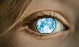 Лунатики, во время сна, часто ходят с открытыми глазами.