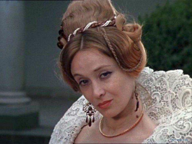 Красавица Маргарита Терехова в роли гордой Дианы.