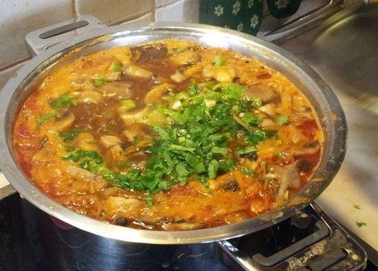 приготовление супа из говядины