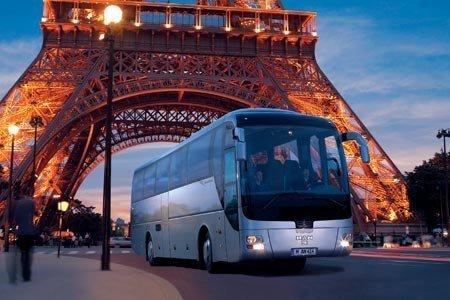 Автобусный тур в Париж.