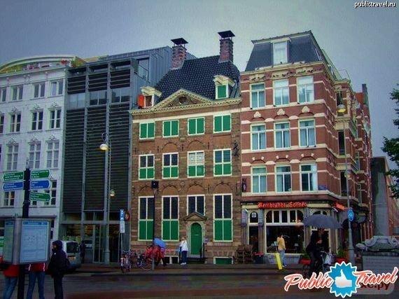 Дом какого художника-один из самых известных музеев Амстердама