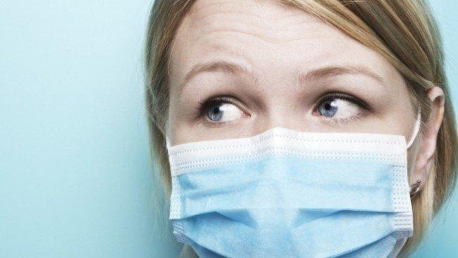 маска во время эпидемии
