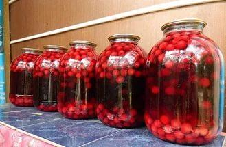 Как приготовить вкусный компот из вишни