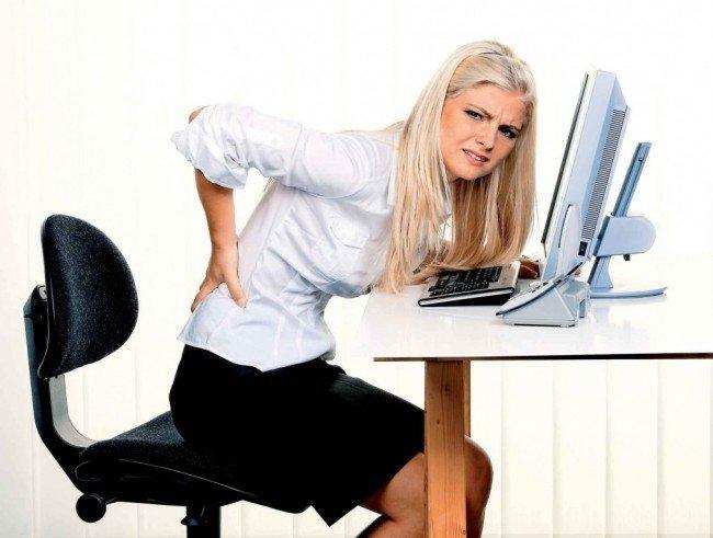Как сохранить здоровье при сидячей работе?