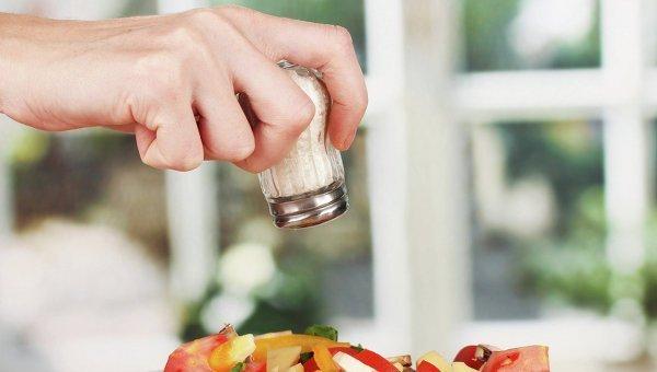 зависимость от соли
