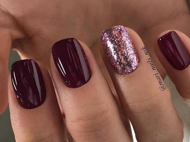 Модное покрытие ногтей.