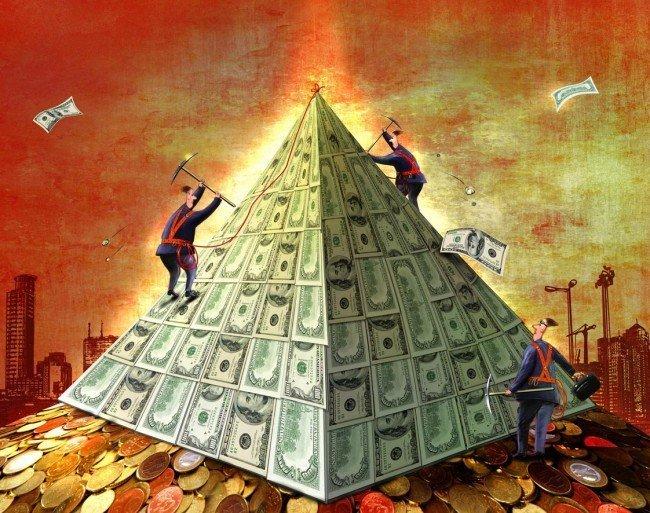 очередная пирамида