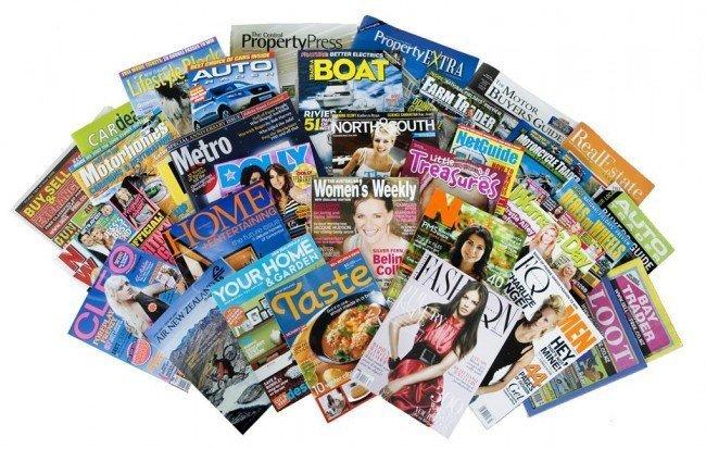 журналы в столе