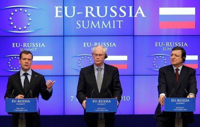 Фото из саммита Россия - ЕС