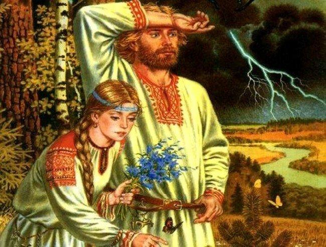 Мужчина и женщина созданы друг для друга.