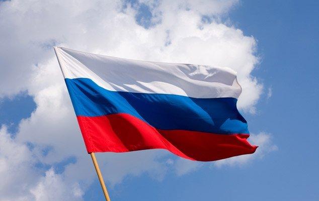 флаг России, клятва Жириновского