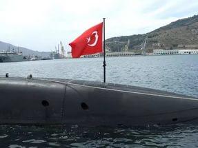 турецкая подводная лодка