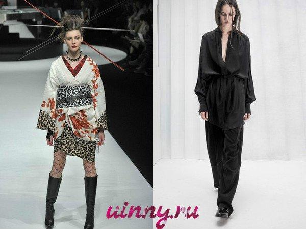 платья кимоно