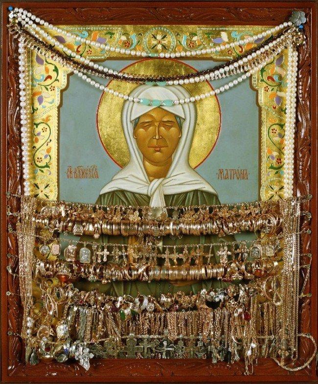 икона святой Матроны Московской