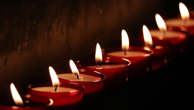 Свечи и храм