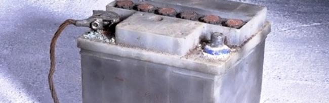 аккумулятор в мороз