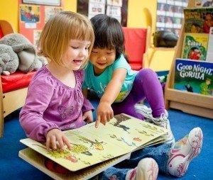 процесс чтения детей