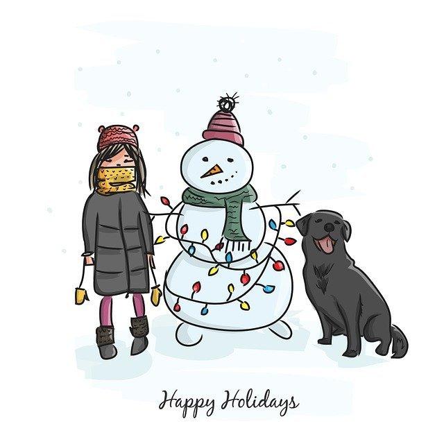 с новогодними праздниками
