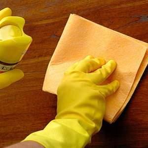 Мытье двери