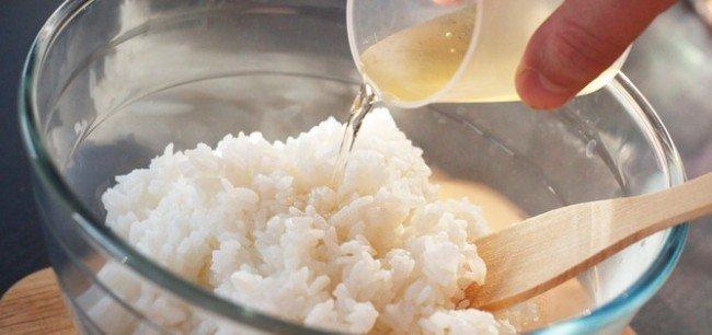 Рис с рисовым уксусом