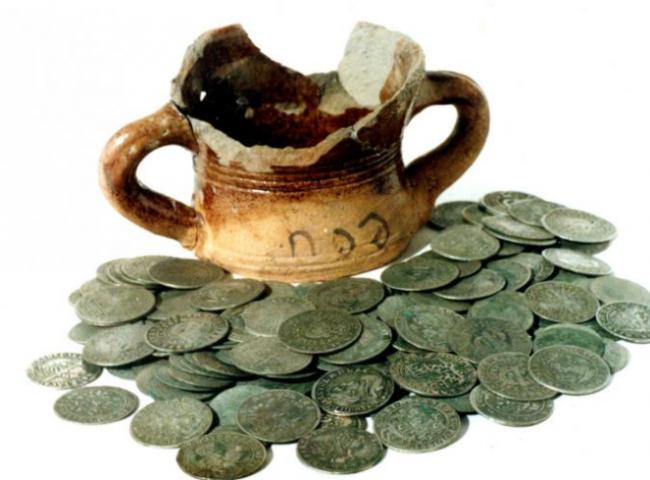 Где появились первые деньги?