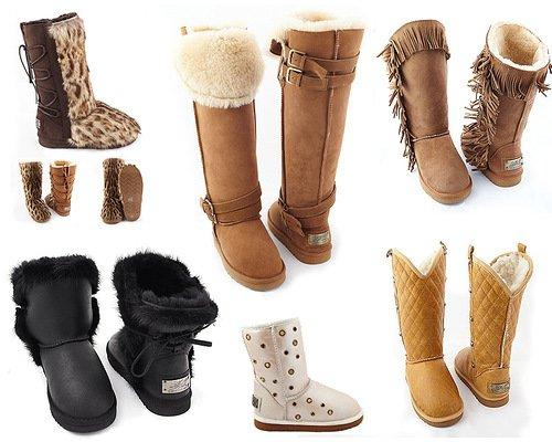 зимняя обувь - главное, чтобы она была удобной