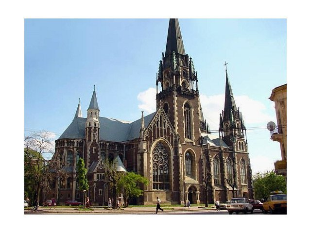собор в стиле викингов