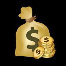Мешок денег на вовет