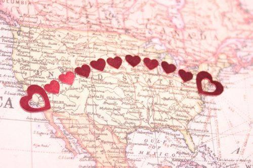 любовь на расстоянии