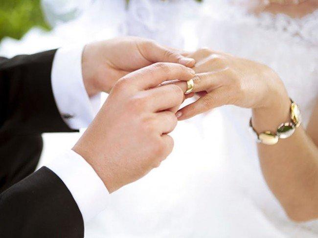 Свадьба и кольца