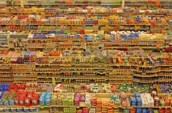 Дефицит в СССР: прилавки в магазине