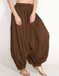 штаны со спущенным швом афгани