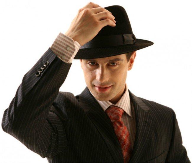 приподнять шляпу