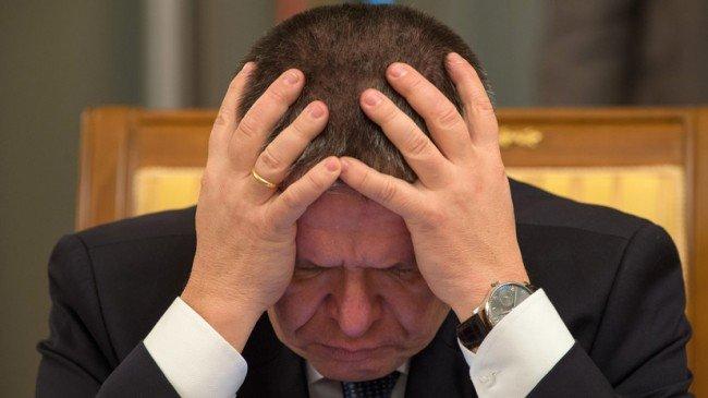Фото А.Улюкаева во время задержания.