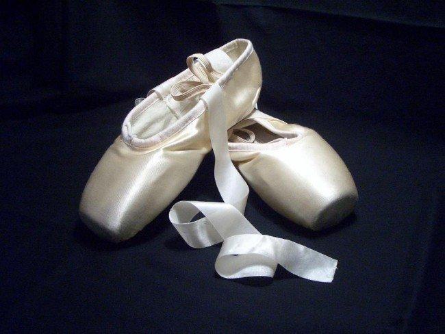 пуанты - обувь балерины