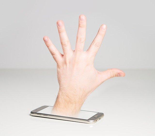 мобильный сам по себе