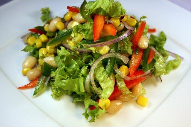 постный салат
