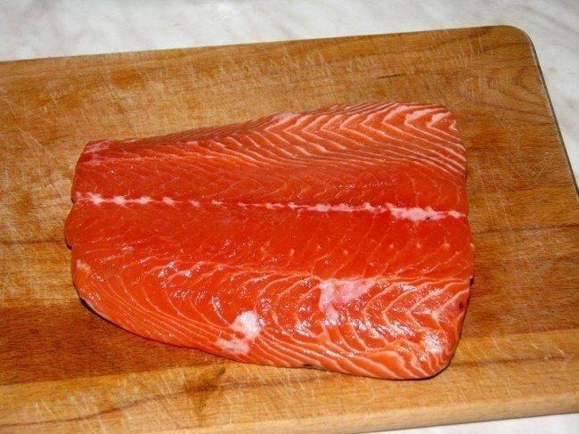 красная рыба - способы соления