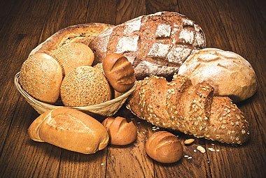 Выпечка из хлеба.
