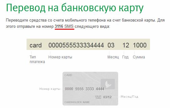 Как сделать перевод по банковской карте