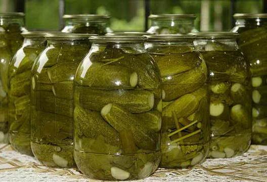консервация огурцов на зиму рецепты с фото