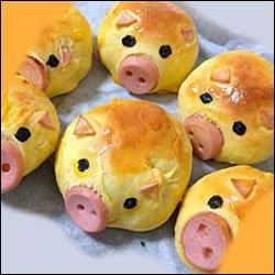 фигурки в виде свиньи