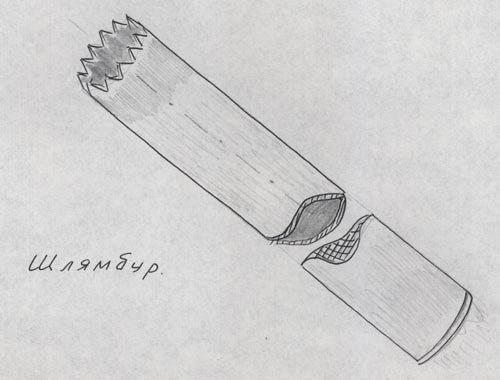 Шлямбур - верный ответ