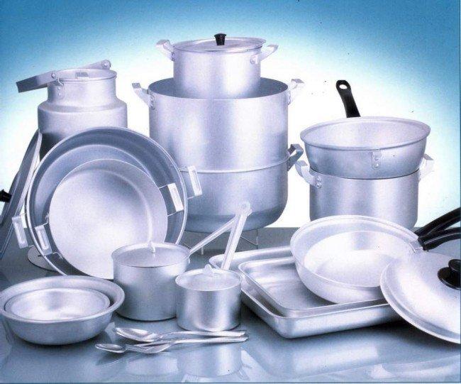 посуда алюминиевая