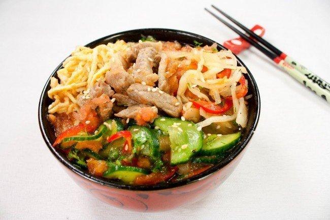 корейские блюда на нашей кухне