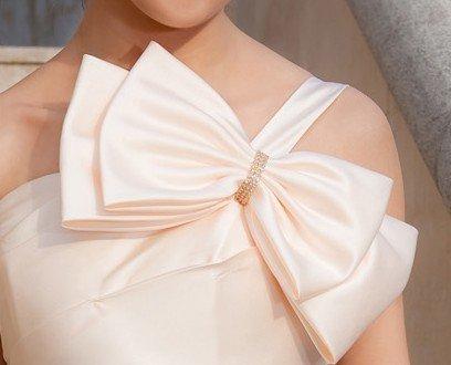 Как сшить бант из ткани на платье своими руками схема 57