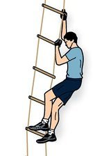 Лезть, залазить, лестница