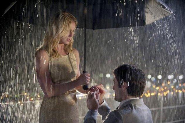 зонтик в дождь