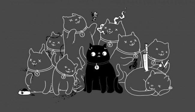 Кошки: Неужели правда 9 жизней?