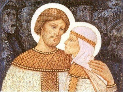 Любящие супруги, душа моя, Русь, Как называли на Руси супруги друг друга